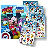 Disney Favorite Characters Coloring Books for Kids with Stickers (Mickey and the Roadster Racers)