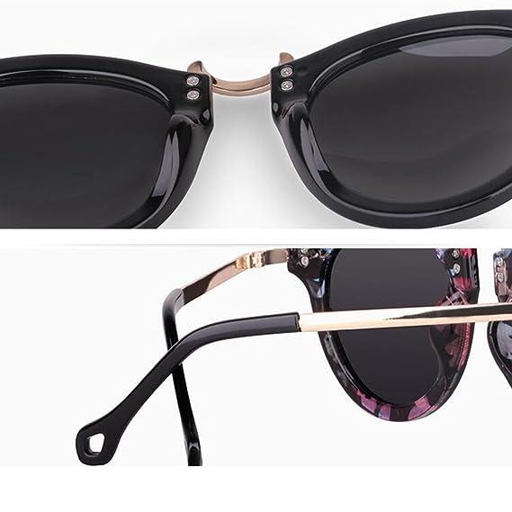 HONEY Polarisations-Sonnenbrillen für Damen Neue 2018 Modelle - Chauffeur-getrieben - Tourismus- und Freizeitbrillen ( Farbe : Black frame/water silver ) njJOLKuyW
