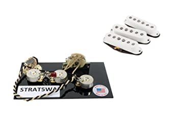 amazon com fender custom shop fat 50s pickup set of 3 for strat fender custom shop fat 50s pickup set of 3 for strat 5 way wiring