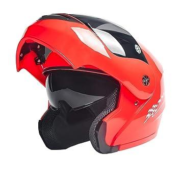 Tnosky Casco de Moto de los Amantes Al Aire Libre Ligero Multifunción Protección de Ciclo de