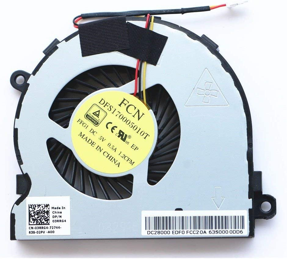CPU Cooling Fan Dell Inspiron 15-3567 15-3562 15 3567 3562