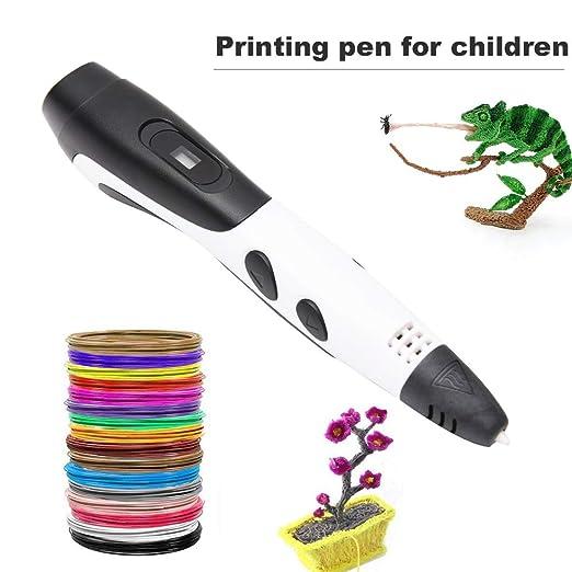 Bolígrafo 3D con filamento PLA recargas de impresión 3D para niños ...