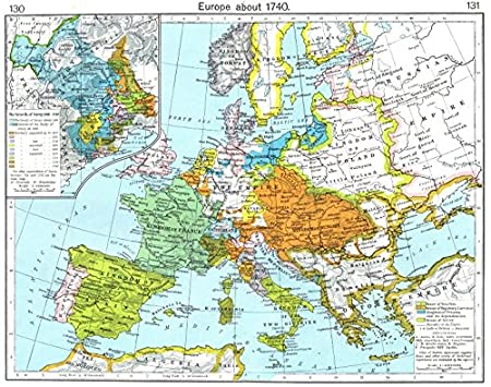 europe about 1740 insets growth of savoy 1418 1748 1956