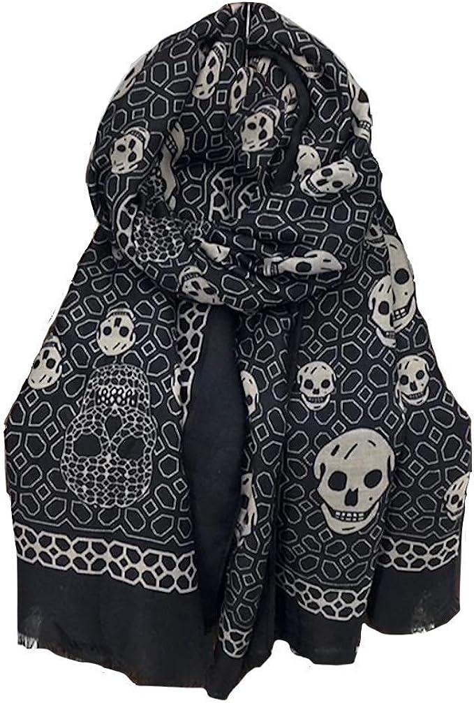 Acheter foulard echarpe bandana tete de mort online 10