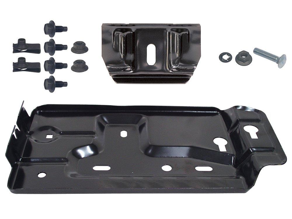 New 63-64 Ford Galaxie 500XL Small-Block 63-65 Falcon Futura Sprint 62-65 Fairlane 24F Battery Tray Kit (EBC3AZ-10764KT)
