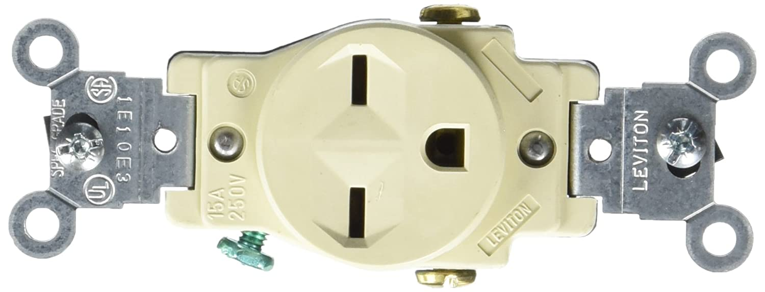 Orange Isolated Ground Receptacle Outlet 20a 250v Nema 620r 5462ig