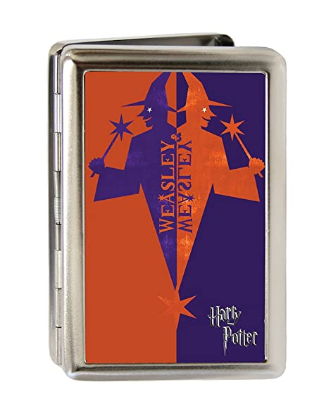 Amazon harry potter metal multi use wallet business card harry potter metal multi use wallet business card holder weasley wizard reheart Image collections