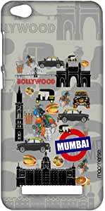 جراب مدينة مومباي سبلايم لهاتف شاومي ريدمي 4A