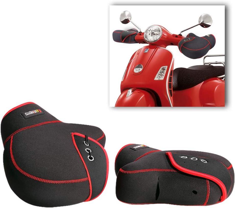 Manoplas Bar Muffs Guantes de Moto Scooter Invierno Manillar Protector Impermeable a Prueba de Viento Caliente Moto