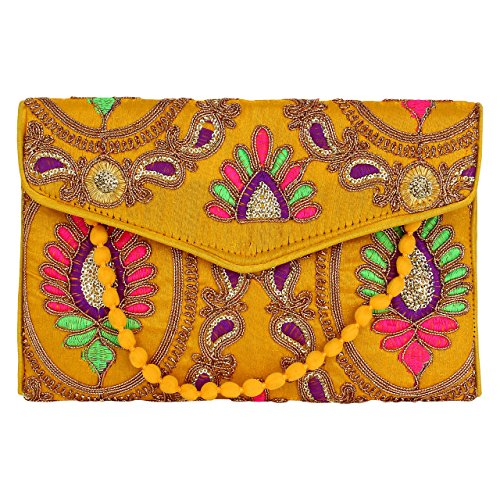 Silk Clutch Purse - 8