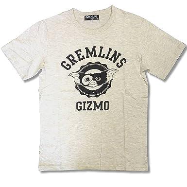 グレムリン GREMLINS ギズモ プリント 柄 半袖 Tシャツ メンズ ファッション T M オートミール