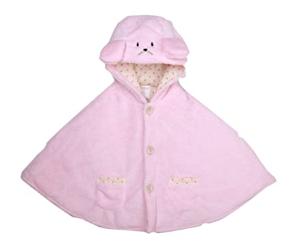 ae2c9ace7 Amazon.com: Baby Kids Toddler Double-side Wear Hooded Cape Cloak Poncho  Hoodie Coat: Clothing