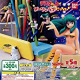 Is was a darling Love on the Urusei Yatsura desk! All five set [Complete]
