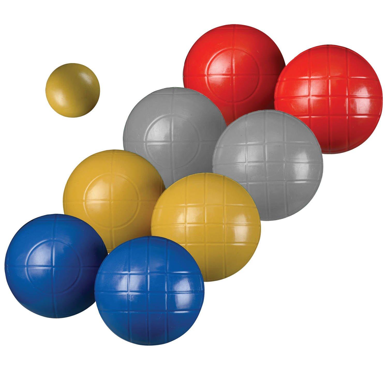 amazon com verus sports vintage bocce ball set 90mm sports