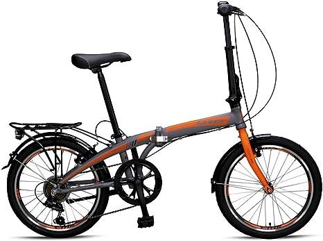 Umit Bicicleta Plegable 20 Pulgadas Marco Frenos V Brake en el ...