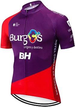 Maillot Ciclismo Verano Manga Corta Camiseta Hombre de Ciclistas Ropa Enduro MTB: Amazon.es: Deportes y aire libre