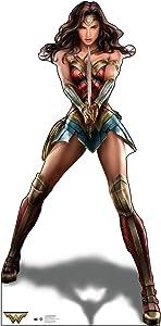 Cardboard People Wonder Woman Life Size Cardboard Cutout Standup - Wonder Woman (2017 Film)
