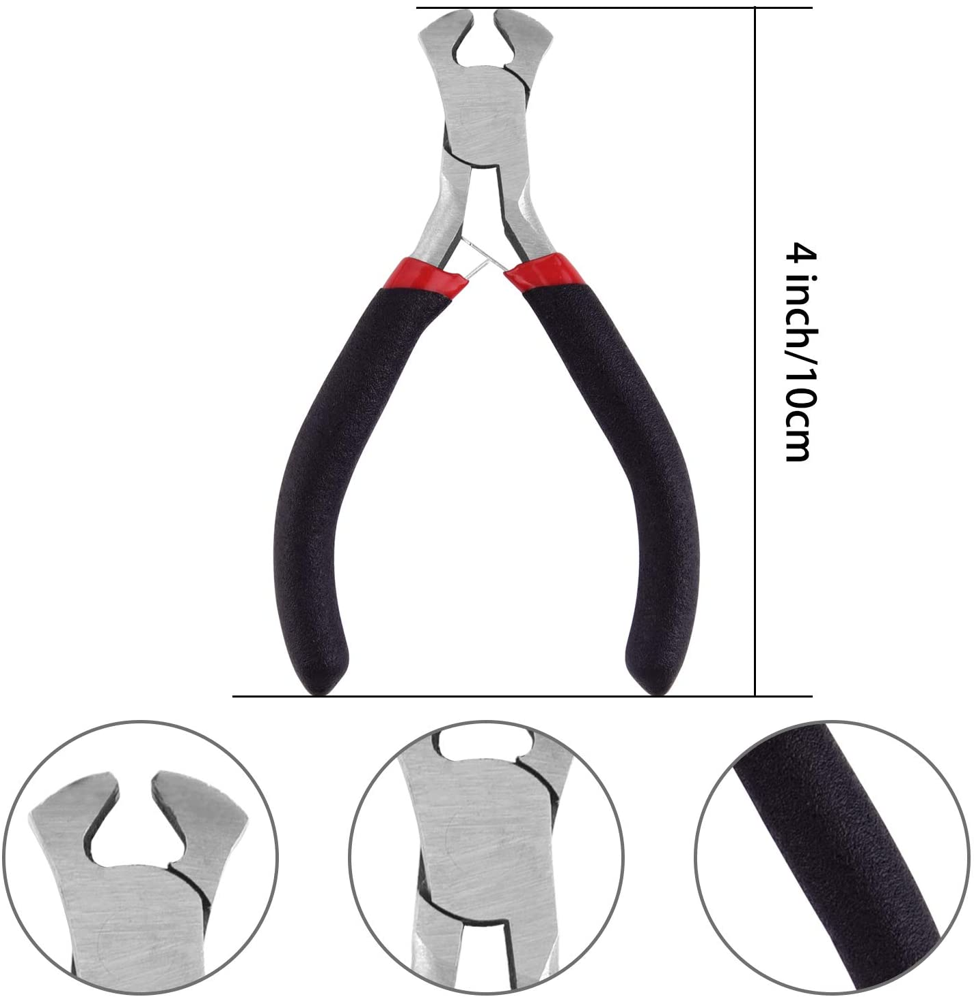 TUPARKA 211 Pcs Rei/ßverschluss Reparatur Set,Rei/ßverschluss Ersatz mit Zipper Install Zange f/ür DIY Taschen Silber und Schwarz Rucks/äcke Gep/äck Jacken