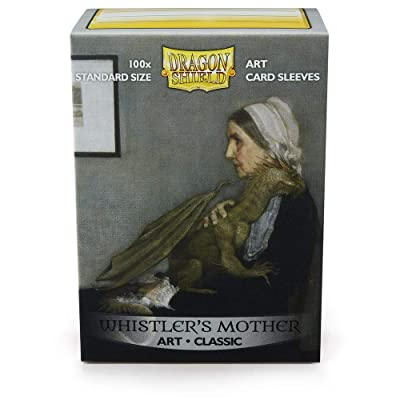 Arcane Tinmen Sleeves: Dragon Shield Limited Edition Art: Whistlers Mother(100): Toys & Games