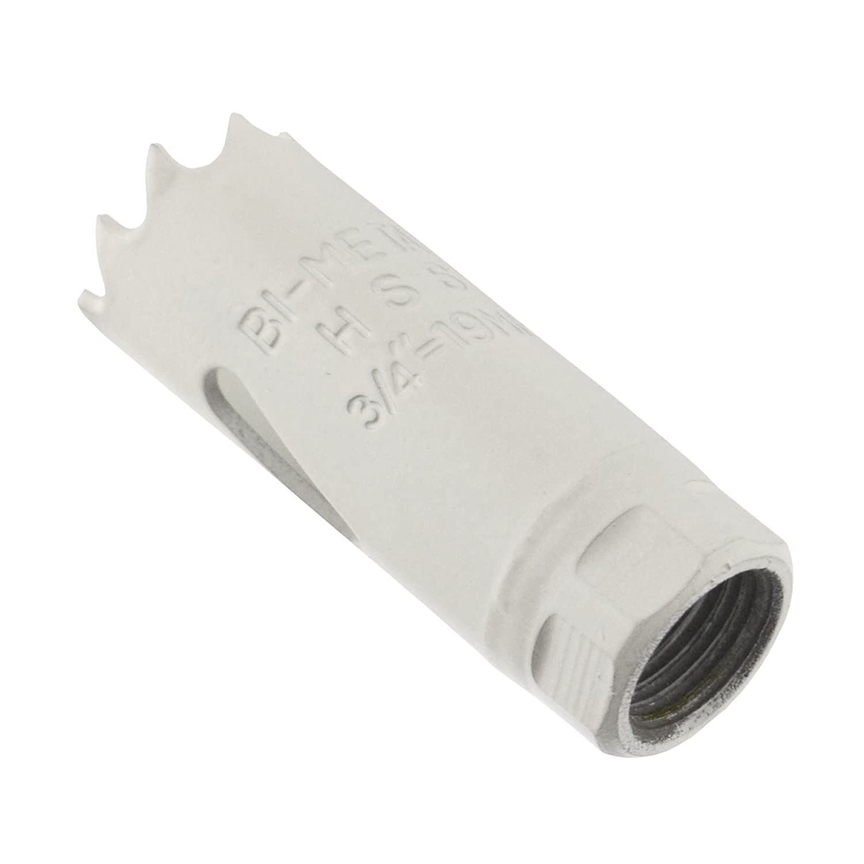 19mm orificio HSS vio hojas bimet/álicas Cuchilla taladrar corta acero//Hierro etc.