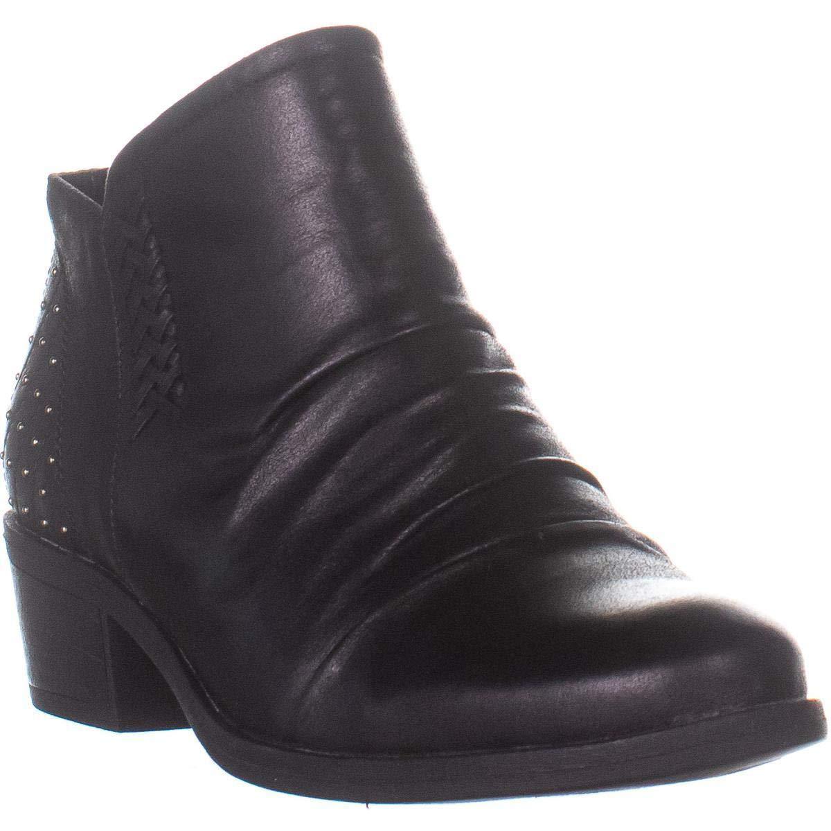 BareTraps Womens Gericka Almond Toe Ankle Fashion Boots Black Size 9.5