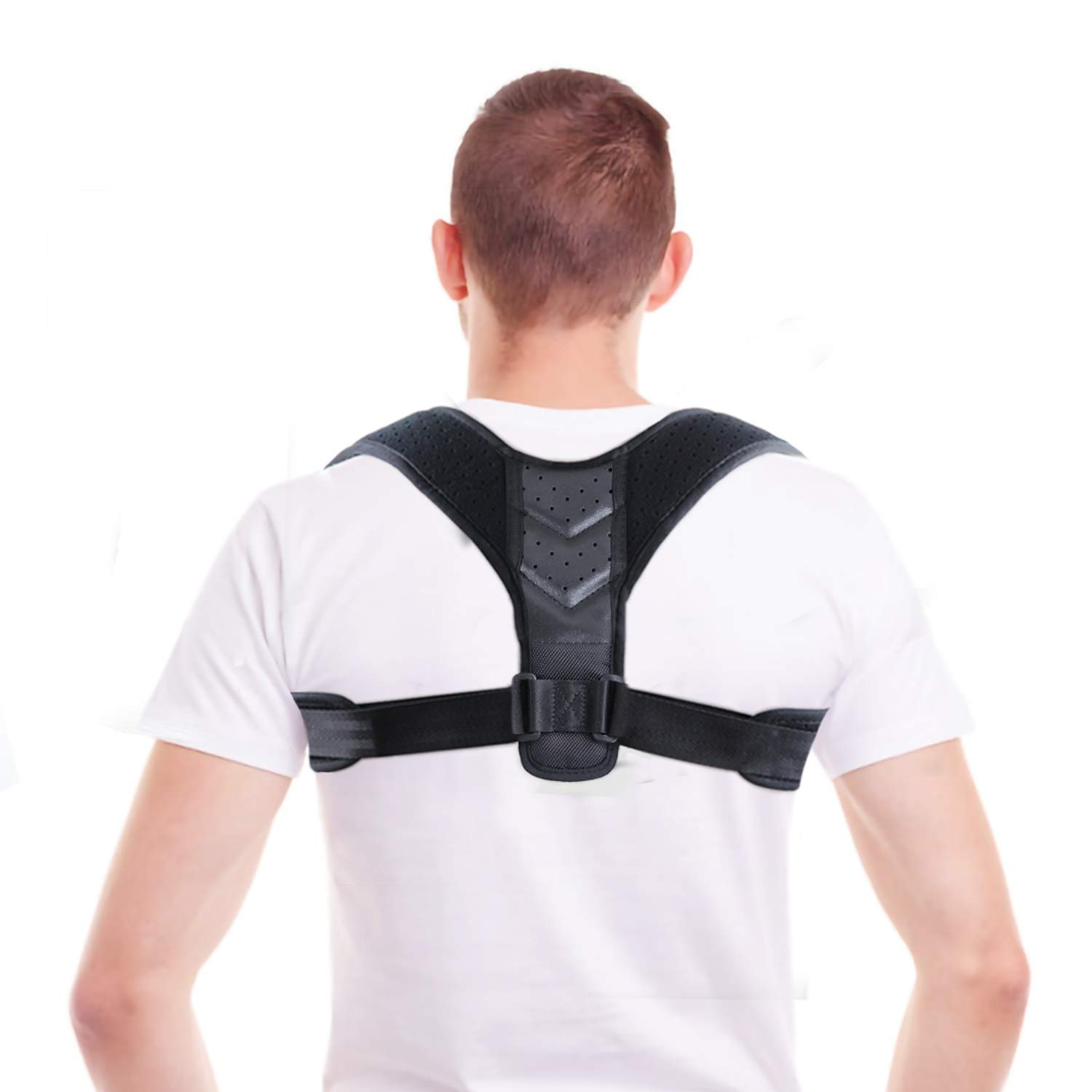Amazon.com: Tagefa Back Shoulder Posture Corrector for Women and Men, Adjustable Brace, Prevent Humpback Hunchbacked, Upper Neck Pain Relief, Men