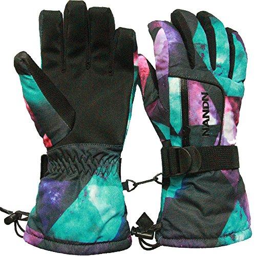 Ski Gloves, Lemonworld Snow Warm Gloves for Men Women kid...