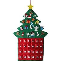 Gosear Fieltro Lindo Estilo de árbol de Navidad
