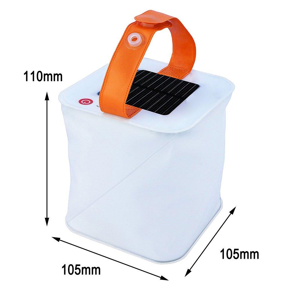 Linterna Camping Plegable 150 l/úmenes LuminAID Packlite Linterna Solar Inflable