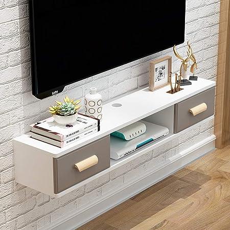 Schwebendes Regal Moderner Tv Stander Mit Ablagefach