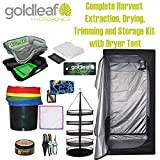Big Harvest Essential Oil Extraction, Flower Bud Trimming, Drying & Storage Kit with DarkDryer Tent