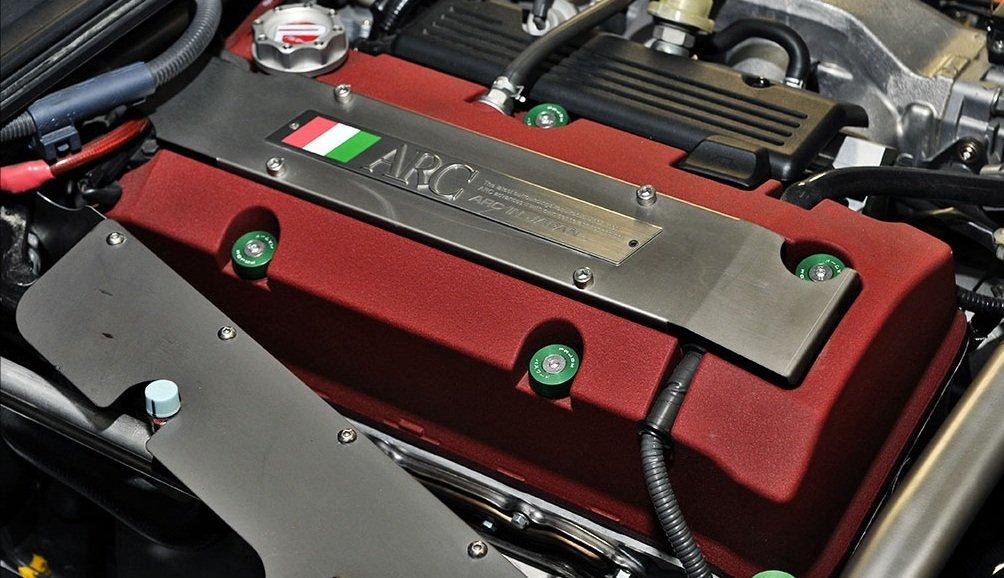 Contraseña JDM tapa de la válvula de arandelas plata se adapta a cualquier F-Series 2000 - 2009 Honda S2000: Amazon.es: Coche y moto