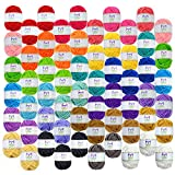 Mira Handcrafts 60 Yarn Skeins – Total of 1312