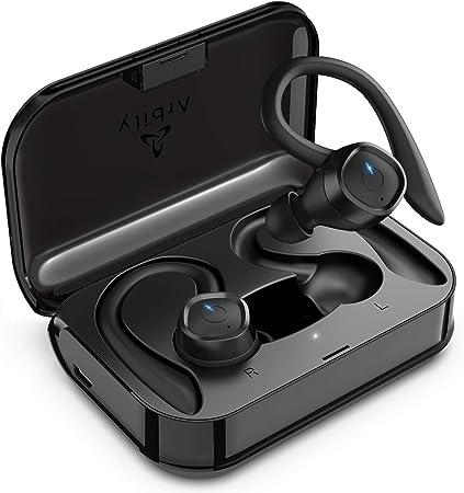 Oferta amazon: Arbily Auriculares Bluetooth Deportivos, Auriculares Inalambricos de Audio Premium, 【Último Modelo】 Auriculares Inalámbricos 60 Horas/IPX7 de Escucha para Correr, Gimnasio [Clase de eficiencia A+++]           [Clase de eficiencia energética A+++]