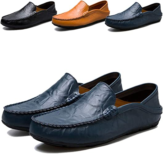 Smart Casual Shoes for Men Loafers Slip