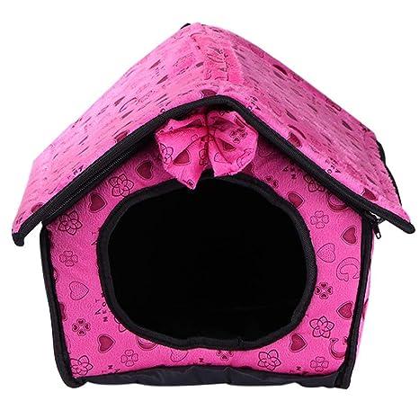 Demiawaking - Caseta de Interior para Perros pequeños y ...