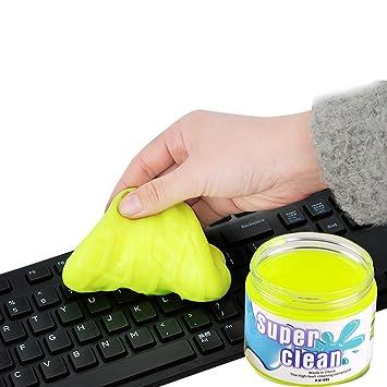gestop teclado limpiador eliminar el polvo, pelo, migajas de teclado, teclado, Air