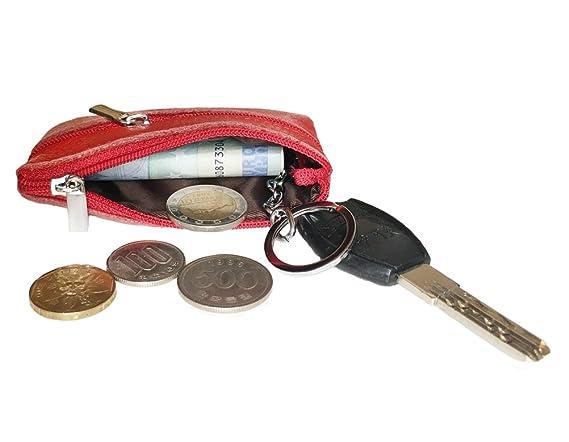 Amazon.com: Llavero de bolso pequeño, itoolai Mujer Piel ...