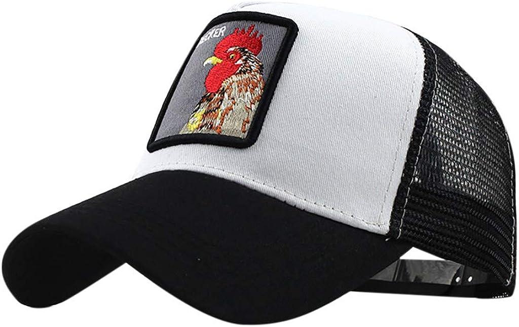 LOPILY Gorra de béisbol de algodón Bordado de Animales Sombreros ...
