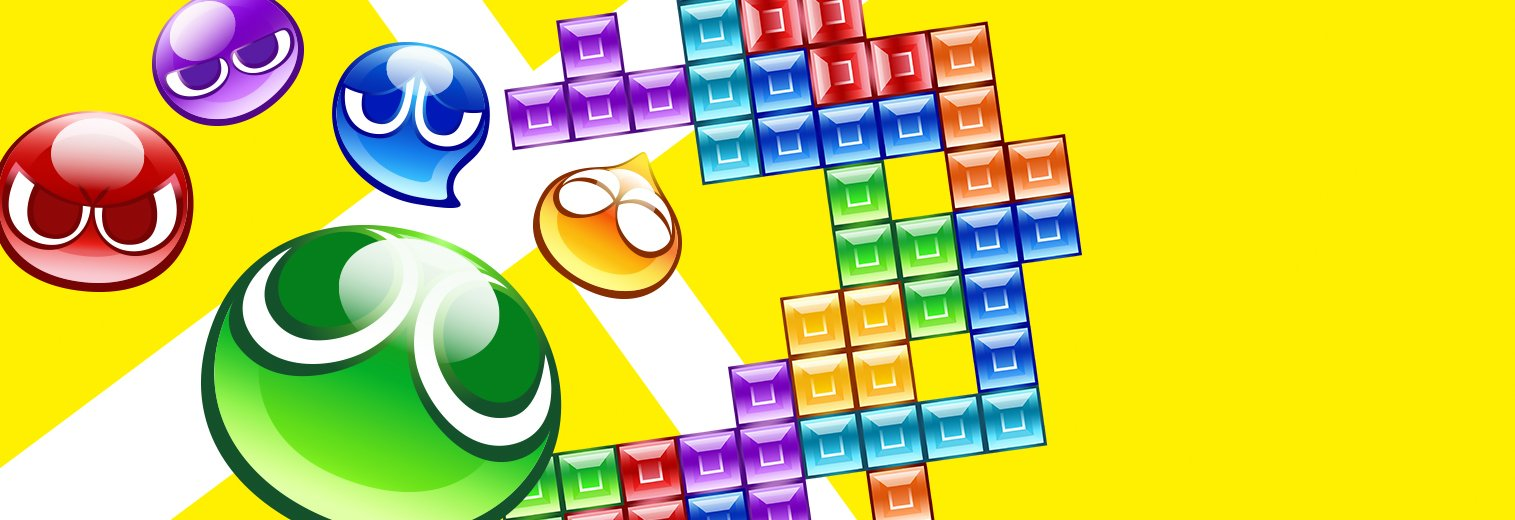 amazon com puyo puyo tetris nintendo switch sega of america inc