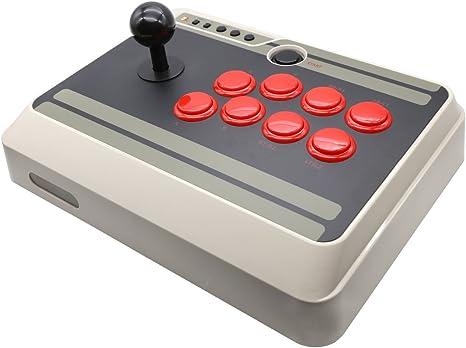 YIKESHU NES30 Arcade Stick para Nintendo Switch, PC, Mac y Android: Amazon.es: Videojuegos