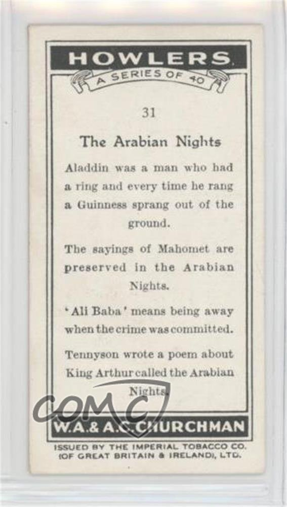 arabian nights poem