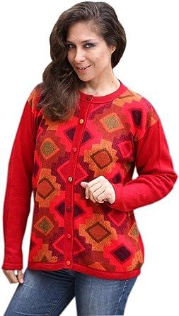 Goodthreads Damen Wool Blend Honeycomb Cocoon Sweater Marke