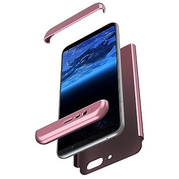 Felfy 360 Grados Silicona Funda Compatible con OnePlus 5T ...