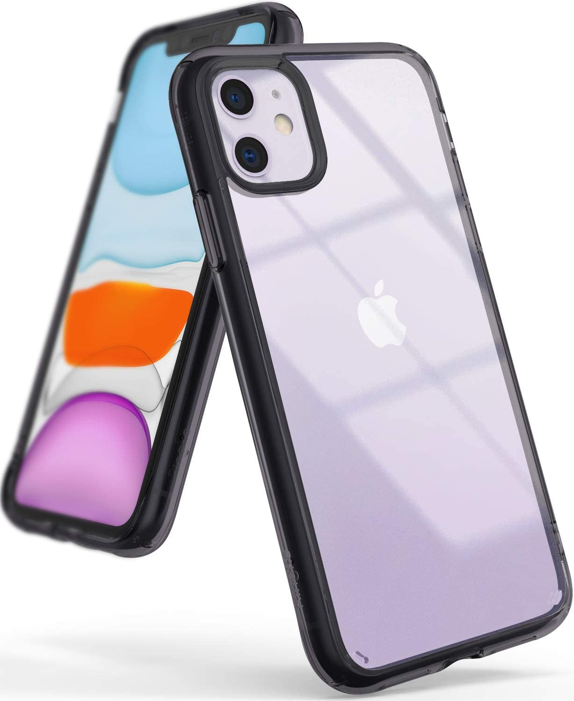 Funda Para iPhone 11 Transparente Negros Ringke (xam)