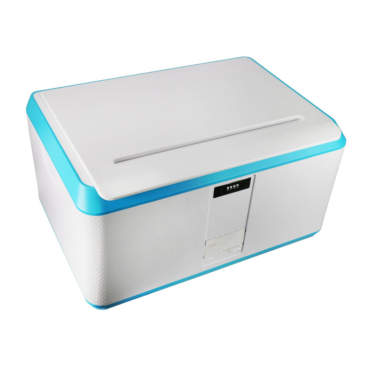 EVERTOP Extra Large Deck Box for Home, Office, Car, White with Code Lock (A-Green) by EVERTOP (Image #2)