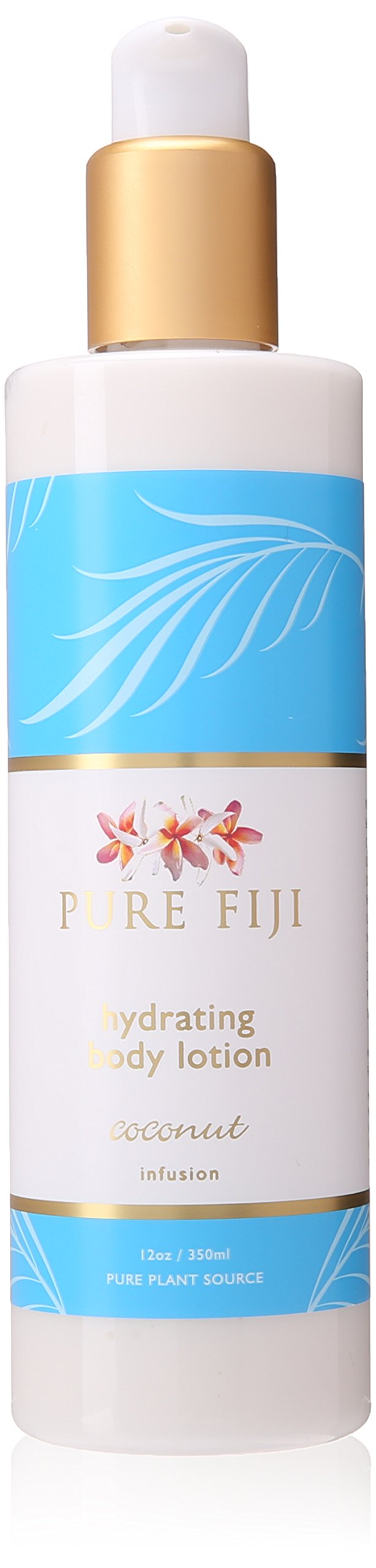 Pure Fiji Hydrating Body Lotion Coconut, 12 Ounce