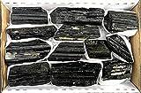 JIC Gem 2 Lb Black Tourmaline Collection in Box of 7x5x2, 10-15 pcs Healing Crystals