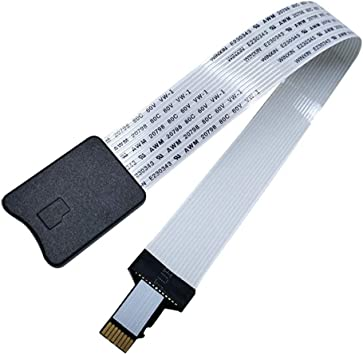 Kentop - Cable alargador de tarjeta micro SD a TF para coche GPS: Amazon.es: Electrónica