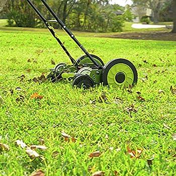 Sun Joe MJ504M 16-Inch Manual Reel Mower w/o Grass Catcher